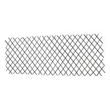 Mgp 72 In L X 36 In H Willow Expandable Trellis Fence Set Wff 36 1 The Home Depot In 2020 Trellis Fence Trellis Landscape Projects