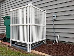 Homelity Garbage Can Concealer Ac Garbage Outdoor Enclosure With 2 Panels Air Conditioner Patio Garden Lattice Screen Panels All Seasons Space Divider Rubbish Wrap For Outside Units Amazon Ca Patio Lawn Garden