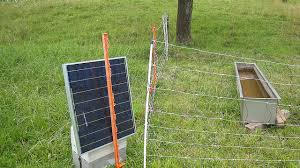 Green Farming Solar Powered Electric Fence For Livestock Stuff4petz