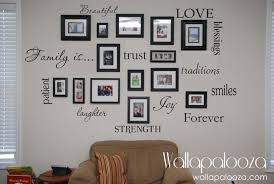 Family Wall Decal Set Of 12 Family Words Family Room Wall Decals Wall Art Family Wall Decals Family Wall Family Room Walls