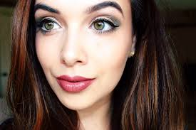 prom makeup for hazel eyes glam