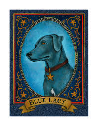 Aletha St. Romain Blue Lacy - State Dog ...