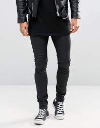 chic leather jeans extreme skinny asos