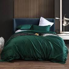 emerald green bedding matching