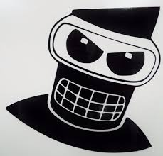 Details About Angry Bender Futurama Cool Car Window Vinyl Decal Sticker 12 Colors Vinyl Decals Cool Cars Cool Stuff