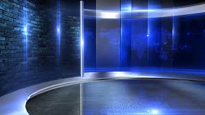 3d virtual tv studio background