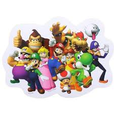 Just Funky Super Mario Bros Party Car Decal Target