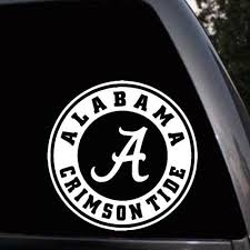 Decor Decals Stickers Vinyl Art Truck Wall Laptop Alabama Crimson Tide Football Decal Sticker For Car Proflow Cl