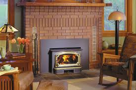 fireplace insert installation wood