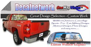 Outdoors Design Rear Window Graphics
