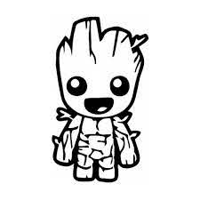 Baby Groot Guardians Of The Galaxy Vinyl Decal 135