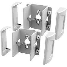 Amazon Com Freedom Set And Secure 2 Pack White Vinyl Fence Bracket Home Improvement