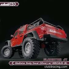 Custom Body Decal For Scx10 Iii Jeep Jt Gladiator S Hercules Ebay