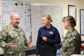 DVIDS - Images - Command Triad explains Meritorious Advancement Program to  Newly Promoted HM3 Gretchen Smith [Image 2 of 10]