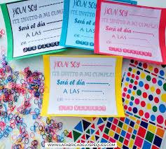 Invitaciones De Cumpleanos Infantiles Imprimibles Gratis La Fabrica De Los Peques