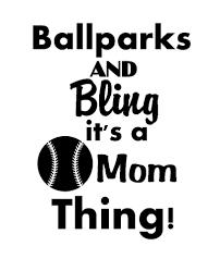 Baseball Mom Vinyl Decal Sticker Silhouette Cameo Crafts Silhouette Vinyl Vinyl