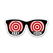 Xray Vision Glasses Decal Rad Girl Creations