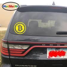 Bitcoin Sign Crypto Currency Home Decor Car Truck Window Decal Sticker Rainbowlands Lk