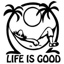 Amazon Com Keen Life Is Good At The Beach Decal Vinyl Sticker Cars Trucks Walls Laptop Black 5 5 In Kcd465 Automotive