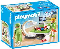Amazon Com Playmobil X Ray Room Toys Games