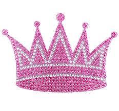 Girly Pink Princess Crown Crystal Rhinestone Car Decal Girly Car Rhinestone Car Decal Rhinestone Sticker