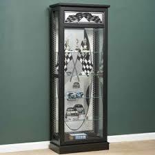 nascar curio cabinet