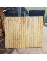 Treated Softwood Feather Edge Fence Panel Buy Panels And Posts Online From The Specialists At Brigstock Sawmill Treatment Colour Green Treated Softwood Feather Edge Fence Panel Sizes 1830 X 900