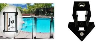 Amazon Com Pool Fence Diy By Life Saver Pool Fence Black Self Closing Gate Drill Guide Bundle Garden Outdoor