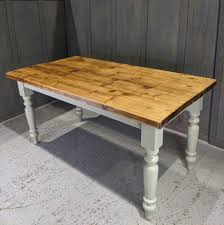 antique farmhouse style pine dining