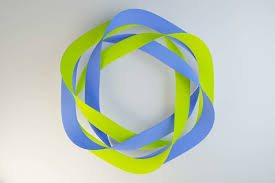 Complex Mobius strip 3D model OBJ FBX BLEND DAE