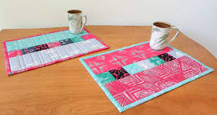 making a quilted table runner out of a