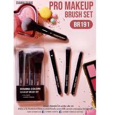 br191 sivanna pro makeup brush set เซท