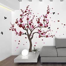 August Grove Japanese Cherry Tree Wall Decal Reviews Wayfair