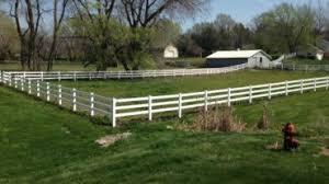 Vinyl Rail Fence Acreage Fences