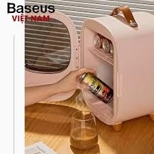 Tủ lạnh mini dung tích 8L, hai chế độ nóng / lạnh, sử dụng cho văn phòng,  gia đình, dễ dàng mang đi du lịch, picnic - Thương hiệu Baseus - Phân