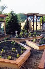 Wright Lumber With Craftsman Landscape Also Backyard Gardening Dirt Path Edible Garden Enclosed Garden Garden Fence Marigolds Raised Beds Shelf Edge Tomato Cages Vegetable Garden Wood Trellis Finefurnished Com