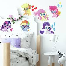 My Little Pony Let S Get Magical Peel And Stick Wall Decals