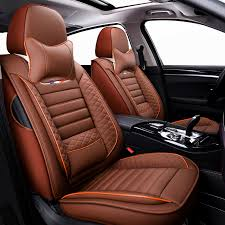 high pu leather car seat covers 5 seats