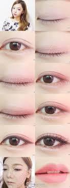 korean eye makeup tutorial 2016