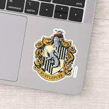 Hufflepuff Crest Sticker Zazzle Com
