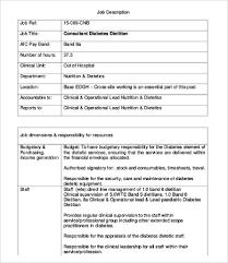 10 ian job description templates