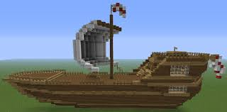 How To Build A Ship In Minecraft Minecraft Guides