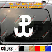 Polska Polish Fighting Poland Decal Sticker Car Vinyl Anchor Kotwica Walczaca B Car Stickers Aliexpress