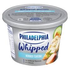 whipped tzatziki herbed cream cheese