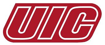Ncaa1267 Uic Flames Chicago Illinois Die Cut Vinyl Graphic Decal Sticker Ncaa