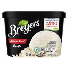 lactose free vanilla breyers