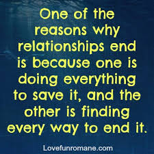 quotes about relationships ending quotes