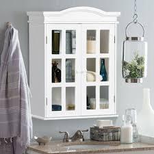 medicine cabinet mirror bathroom wall