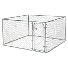 Boxed Kennel From Fencemaster Is Designed For Small And Medium Pet Animals Includes Hardware For Convenien Chain Link Dog Kennel Dog Kennel Outdoor Dog Kennel
