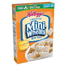 frosted mini wheats bite size cereal
